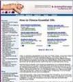 Thumbnail Essential Oils Website