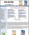 Thumbnail Taxes Website