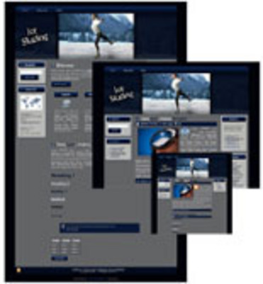 Product picture Ice Skating WP Theme