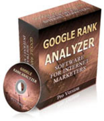 Product picture Google Rank Analyzer.
