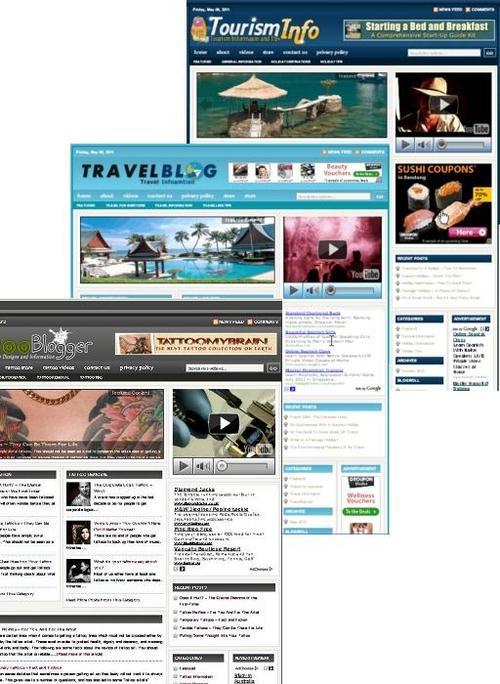 Product picture 3 Niche Blog (Travel,Tourist,Tatto)
